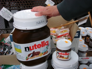 nutella 5kg jar. Black Bedroom Furniture Sets. Home Design Ideas